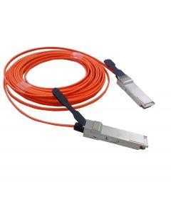 PlusOptic compatible AOCQSFP+-1M-PLU 1M QSFP+ to QSFP+ AOC