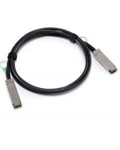 Dell compatible DACQSFP-1M-DEL 1M QSFP+ to QSFP+ DAC CBL-QSF40GE-PASS-1M