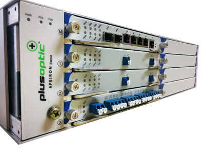 Amplified dwdm mux solutions