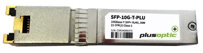 Plusoptic 10G RJ45 copper sfp